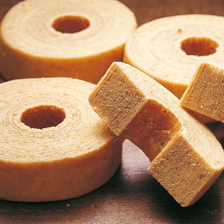 バウムクーヘン|焼き菓子