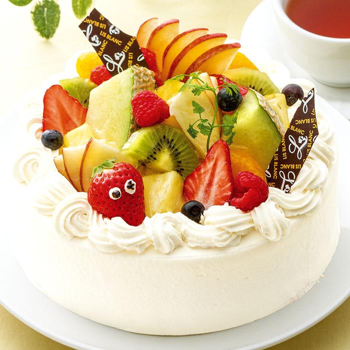 アニバーサリー-デコレーションケーキ