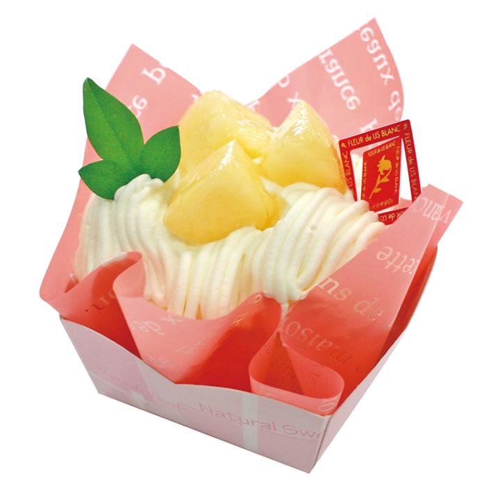 白桃のモンブラン(季節限定)