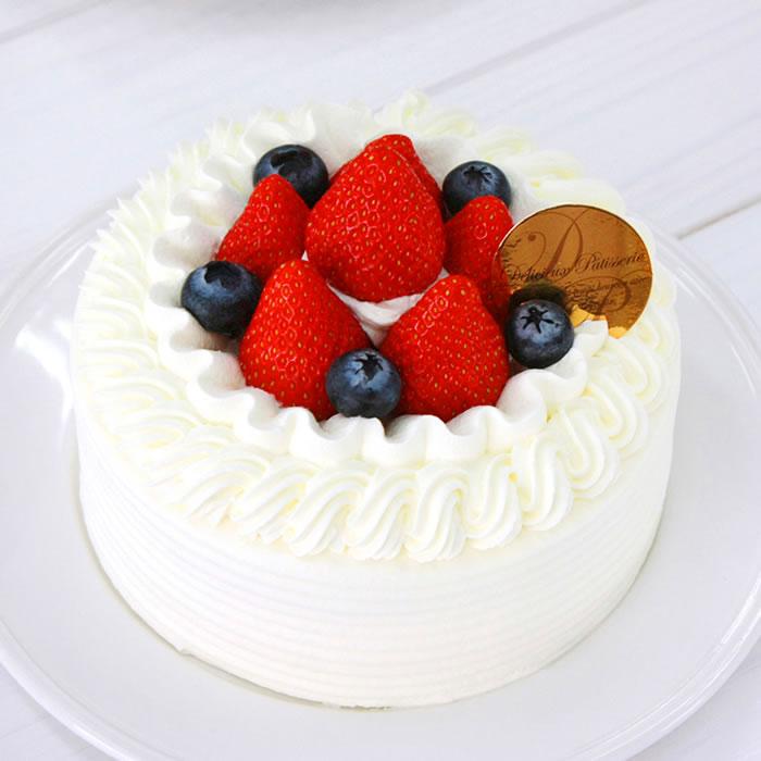 苺デコレーション-デコレーションケーキ