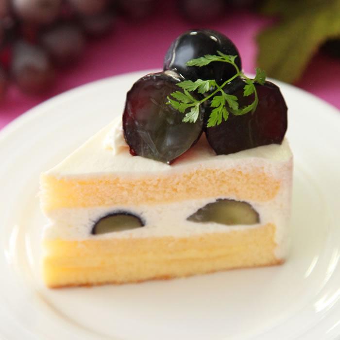 ナガノパープルのショートケーキ(季節限定)