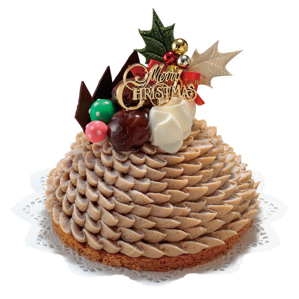 モンブランノエル-クリスマスケーキ
