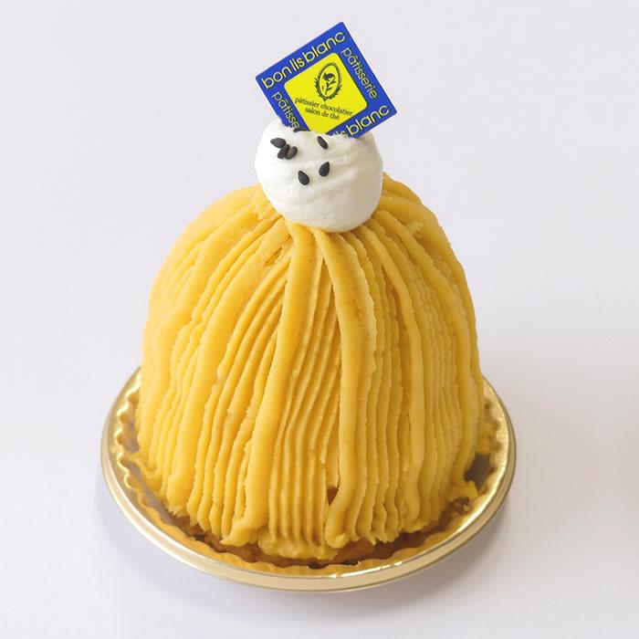 安納芋のモンブラン(季節限定)