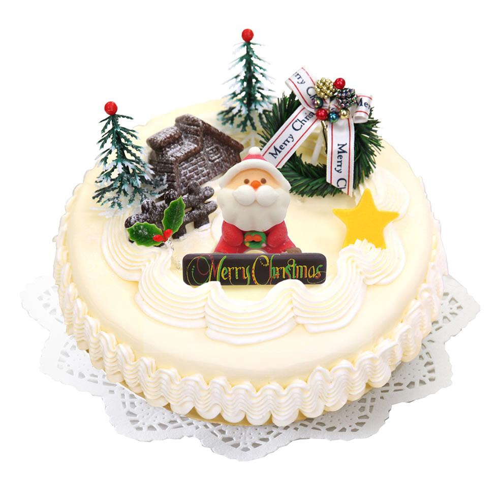 フレッシュバターデコレーション-クリスマスケーキ