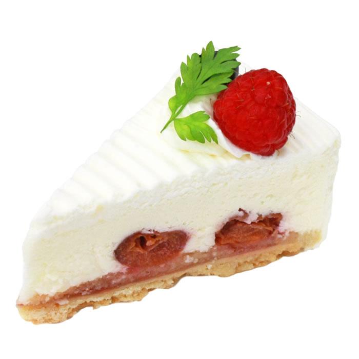 レアチーズ - ケーキ