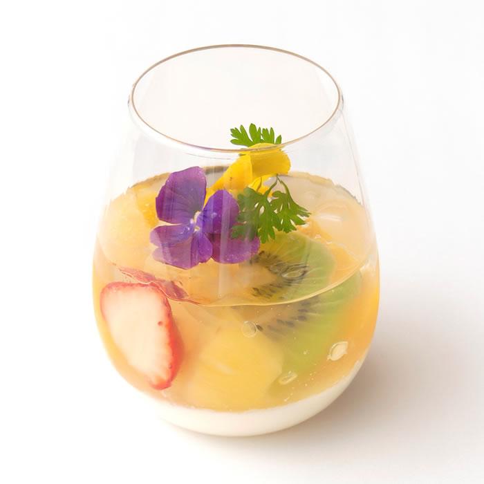 フルーツパンナコッタ(季節限定)