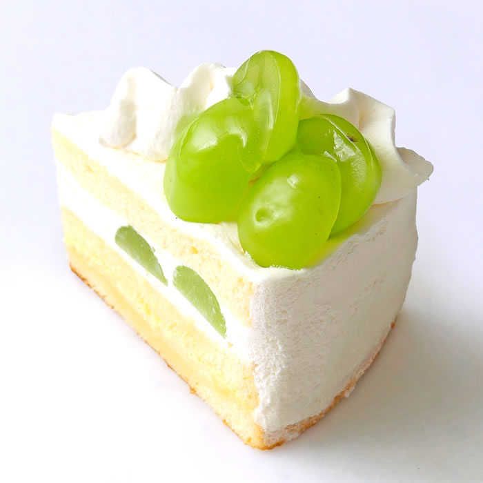 シャインマスカットのショートケーキ(季節限定)